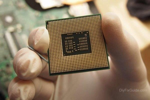 Acer Aspire 4820TG CPU