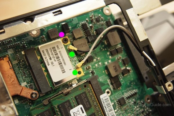 Removing wireless card