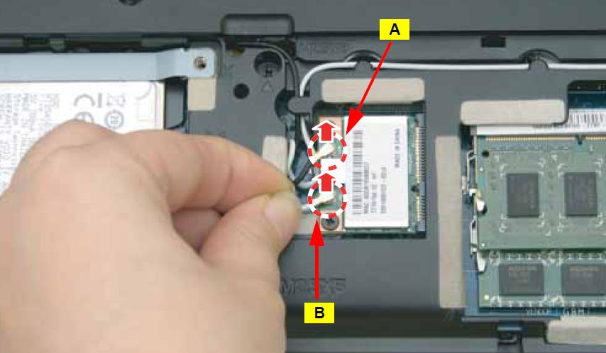 Acer Aspire E1-531, E1-531G Disassembly and RAM, HDD upgrade guide