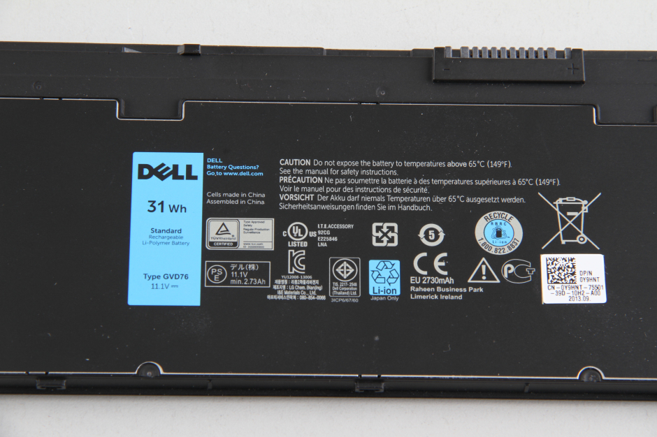 Dell Latitude E7240 Touch disassembly and SSD, RAM, HDD upgrade
