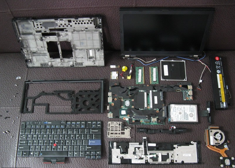 Fabulous Lenovo Thinkpad X220 Disassembly Myfixguide Com Home Remodeling Inspirations Genioncuboardxyz