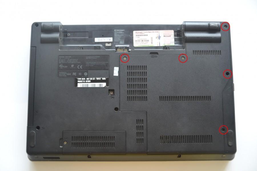 Lenovo-ThinkPad-Edge-E40-Disassembly-2