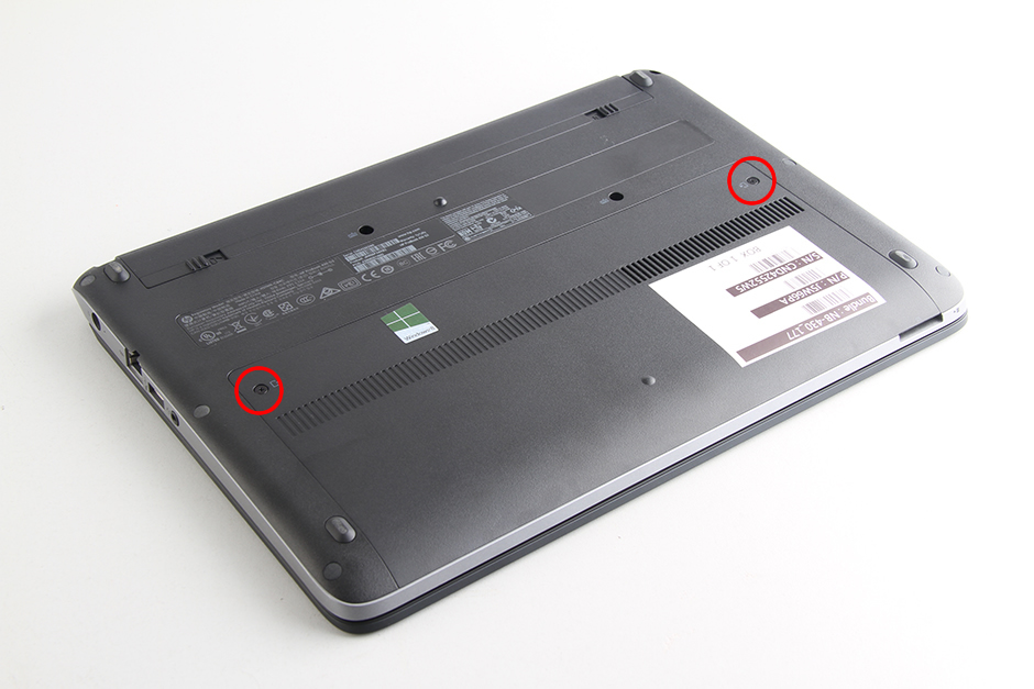 HP ProBook 430 G1 disassembly and RAM, HDD upgrade options