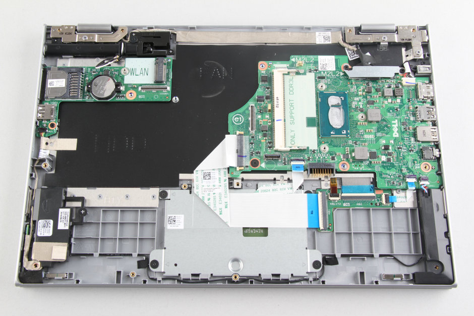 Dell Inspiron 13 7000 7347 Disassembly and SSD, RAM, HDD upgrade