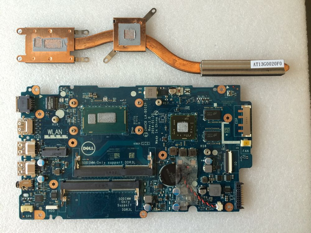 Dell Inspiron 15 5547 Disassembly and SSD, RAM, HDD upgrade options