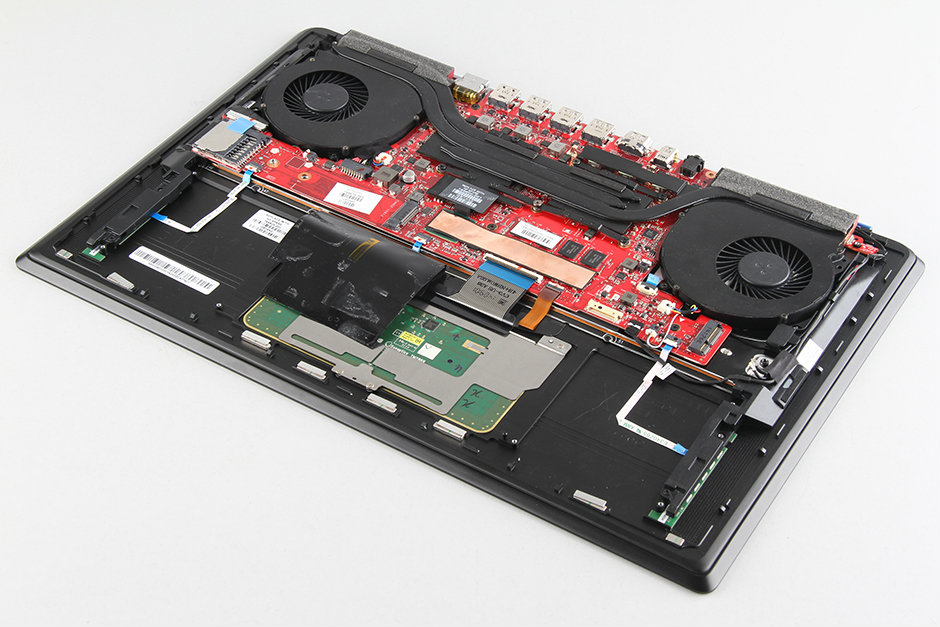 HP Omen 15 disassembly and SSD, RAM, HDD upgrade options