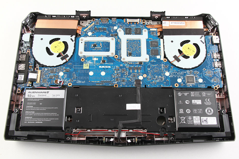 Dell Alienware 15 Disassembly and SSD, RAM, HDD upgrade