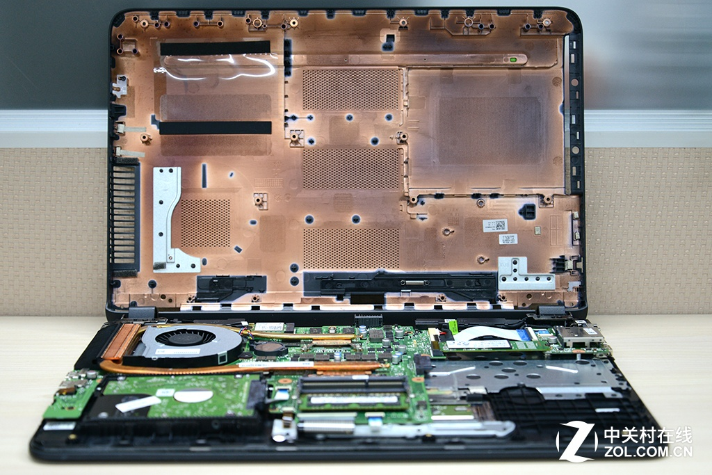 HP Pavilion Gaming 15-ak000 disassembly and SSD, RAM, HDD