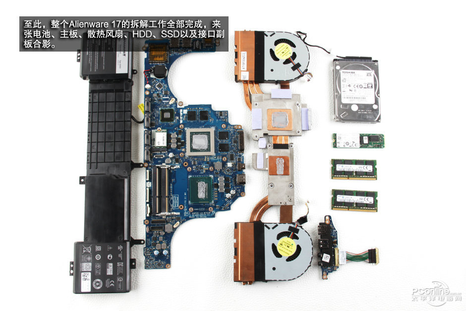 Alienware 17 R2 Disassembly and SSD, RAM, HDD upgrade options