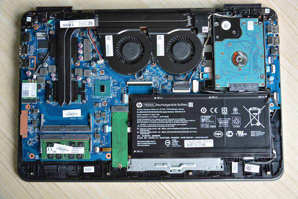 HP Omen 15-ax000 Disassembly and SSD, RAM, HDD upgrade guide