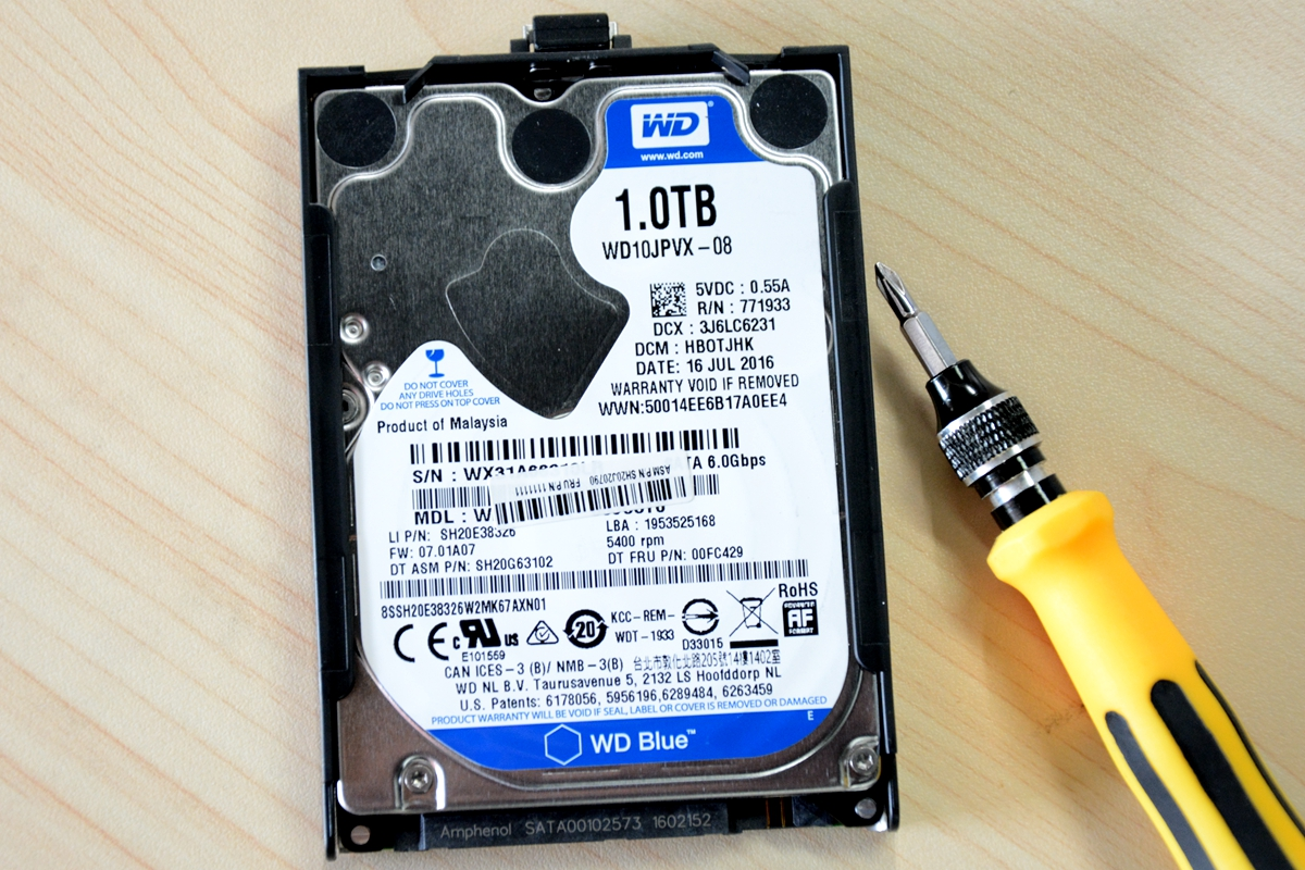 Does changing hard drive void warranty lenovo