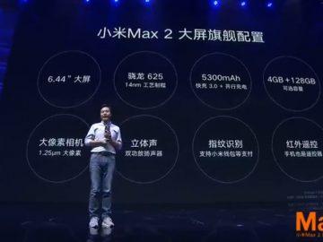 Xiao Mi Max 2 press conference