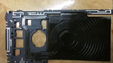 LG V30 middle bezel