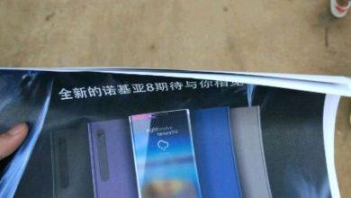 Nokia 8 poster