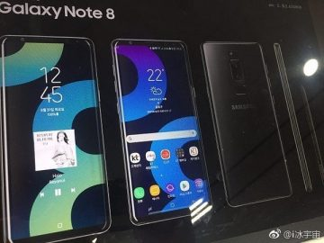 Samsung Galaxy Note 8 poster