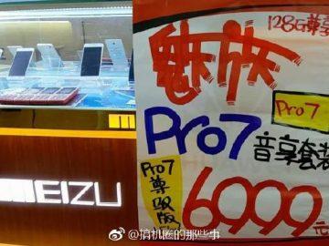 Meizu Pro 7 128GB + Flow
