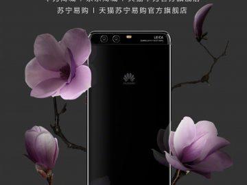 Huawei P10 Plus obsidian black variant