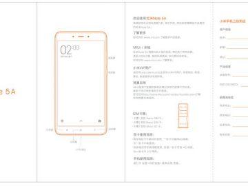 Redmi Note 5A manual