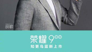 Robin blue Huawei Honor 9