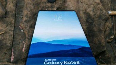 Samsung Note 8 prototype
