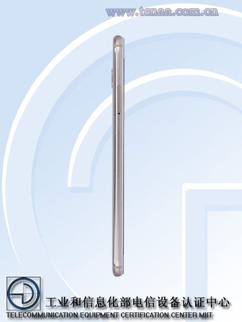Zenfone 4 selfie ppro side