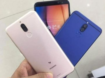 Huawei G10 three color options