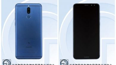 Huawei RNE-AL00 front and back