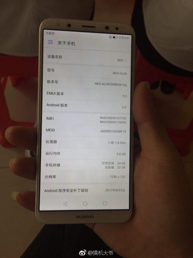 Huawei RNE-AL00 leak 1