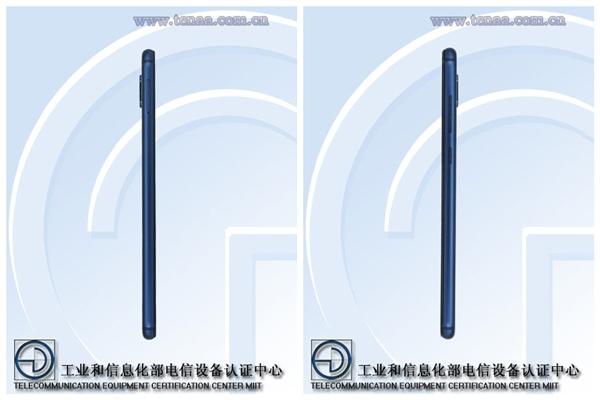 Huawei RNE-AL00 side