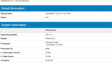 Photo of Apple iPhone X gets 9,956 scores on Geekbench