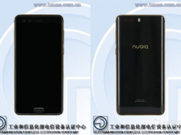 nubia NX589J front and back