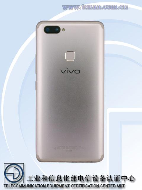 Vivo X20 Plus back