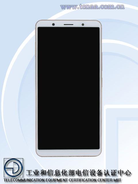 Vivo X20 Plus front