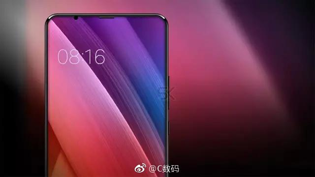 Xiaomi Mi 7 front