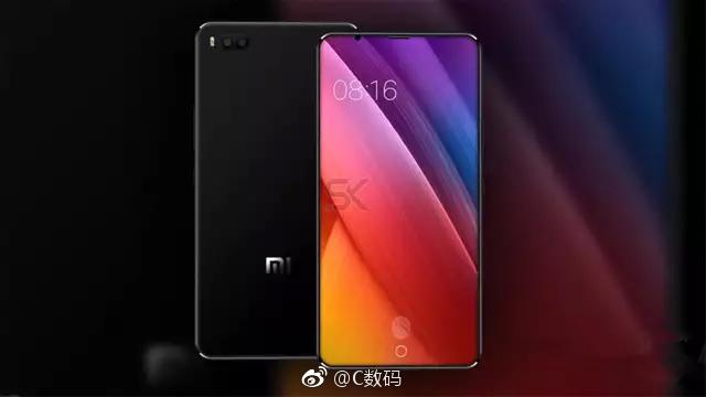 Xiaomi Mi 7 rendering