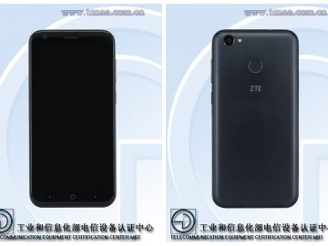 ZTE Blade A6 Lite front and back