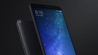 black Xiaomi MI Max 2