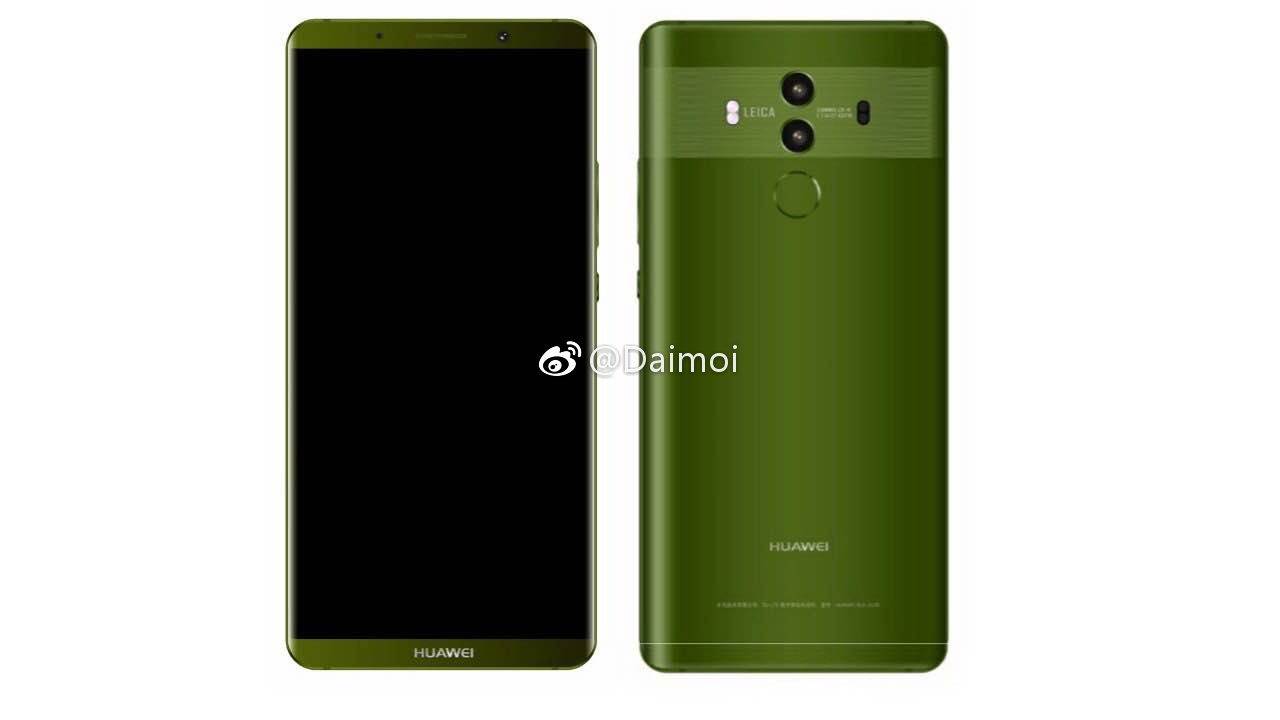 Huawei Mate 10 With 6 2 Inch Touchscreen And Leica Dual