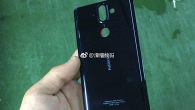 Nokia 9 back case
