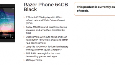 Razer Phone specification