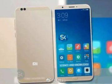 Xiaomi 6C rendering