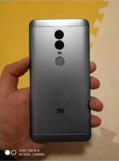 Xiaomi Redmi Note 5 back