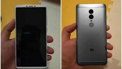 Photo of Xiaomi Redmi Note 5 live image leaked with 18:9 full screen