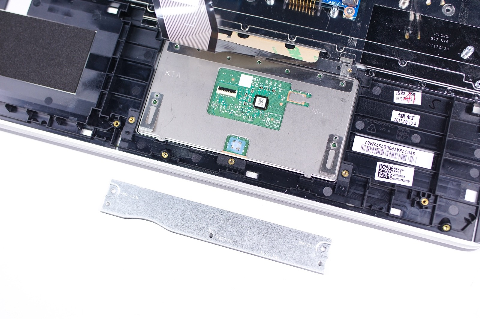 HP Pavilion 15-ck000 Disassembly and RAM, SSD and HDD upgrade