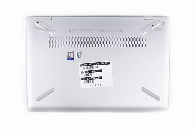 HP Pavilion 15-ck000 bottom cover