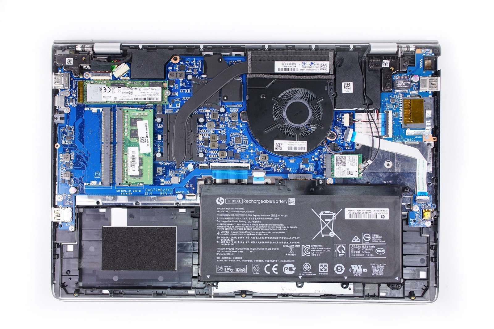 HP Pavilion 15 ck000 Disassembly 3 hp pavilion 15 ck000 disassembly and ram, ssd and hdd upgrade