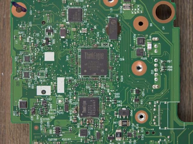 Lenovo ThinkPad X270 ThinkEngine chips