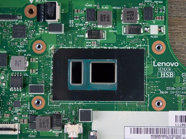 Lenovo ThinkPad X270 processor