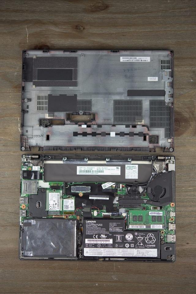 remove Lenovo ThinkPad X270 internal picture