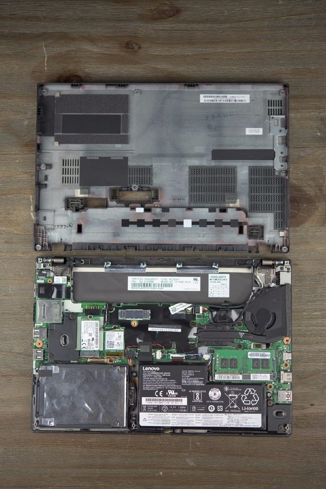 remove Lenovo ThinkPad X270 internal picture